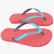 Sandals 2 3d model