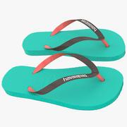 Sandals 3 3d model