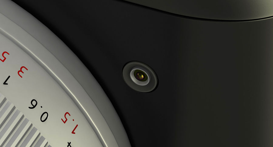 Leica XU Fotoğraf Makinesi DSLR royalty-free 3d model - Preview no. 6