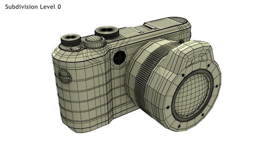 Leica XU Fotoğraf Makinesi DSLR royalty-free 3d model - Preview no. 24
