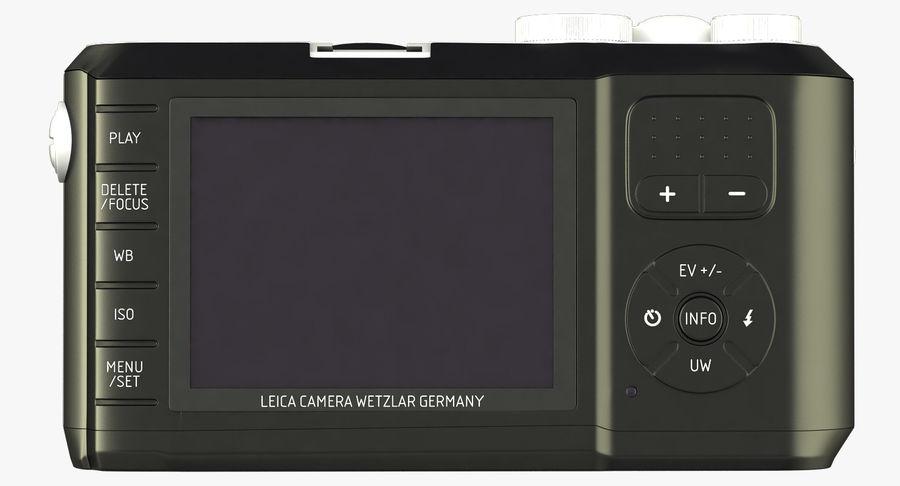 Leica XU Fotoğraf Makinesi DSLR royalty-free 3d model - Preview no. 13