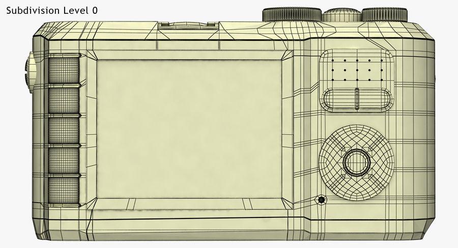 Leica X-U Camera DSLR royalty-free 3d model - Preview no. 15