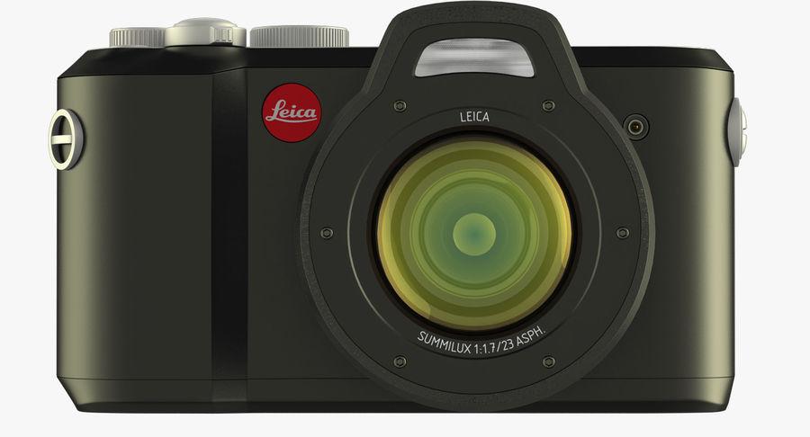 Leica XU Fotoğraf Makinesi DSLR royalty-free 3d model - Preview no. 9