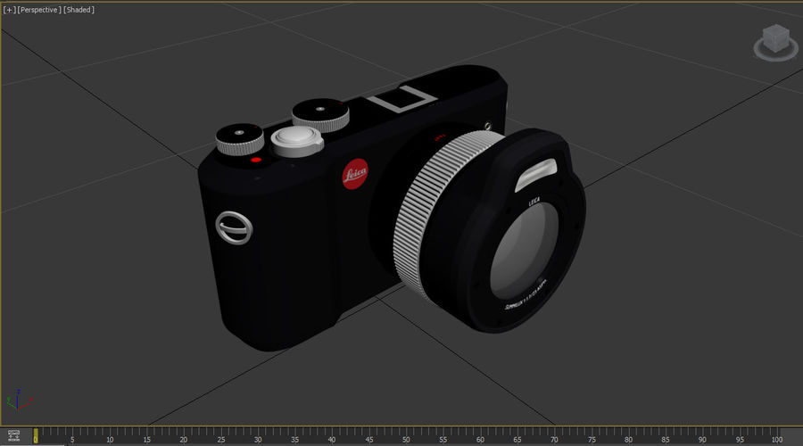 라이카 XU 카메라 DSLR royalty-free 3d model - Preview no. 31