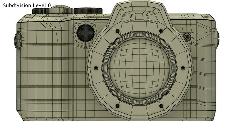 Leica X-U Camera DSLR royalty-free 3d model - Preview no. 11