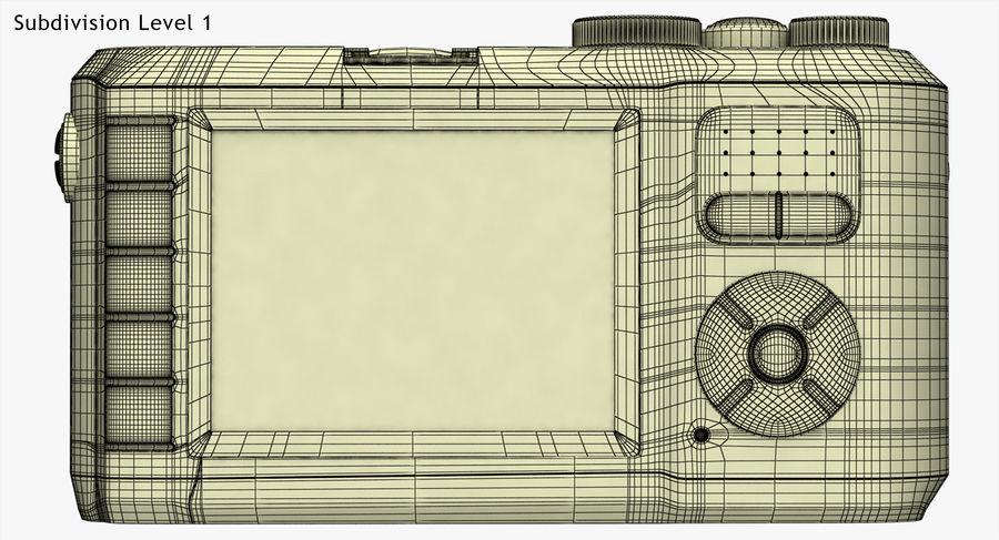 Leica X-U Camera DSLR royalty-free 3d model - Preview no. 16