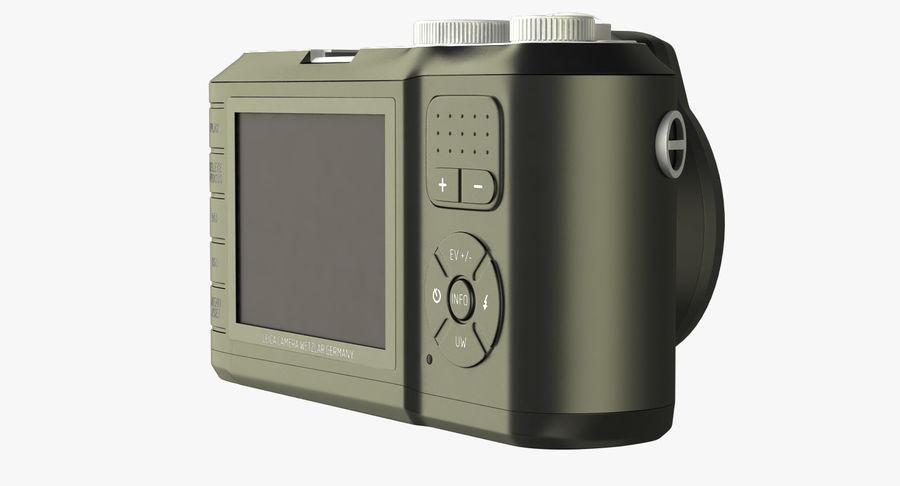 Leica XU Fotoğraf Makinesi DSLR royalty-free 3d model - Preview no. 2