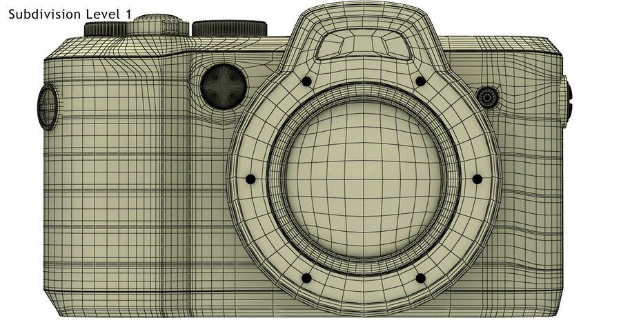 Leica XU Fotoğraf Makinesi DSLR royalty-free 3d model - Preview no. 12