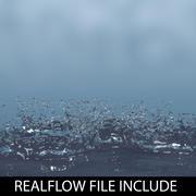 droplet realflow 3d model