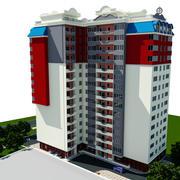 Gebouw van de stad 3d model