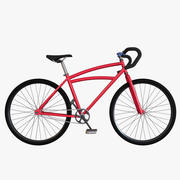 Custom bicycle 3d model