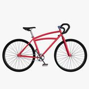 Custom bicycle 3d model