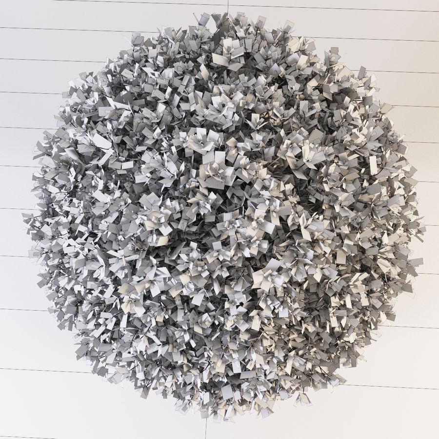 Spherical Boxwood Bush royalty-free 3d model - Preview no. 9