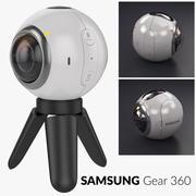 三星Gear 360 Camera VR 3d model