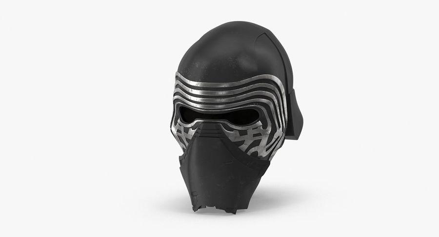 Kylo Ren Helmet royalty-free 3d model - Preview no. 2