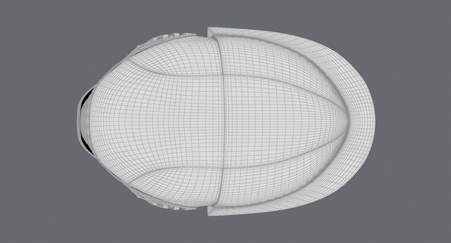 Kylo Ren Helmet royalty-free 3d model - Preview no. 20