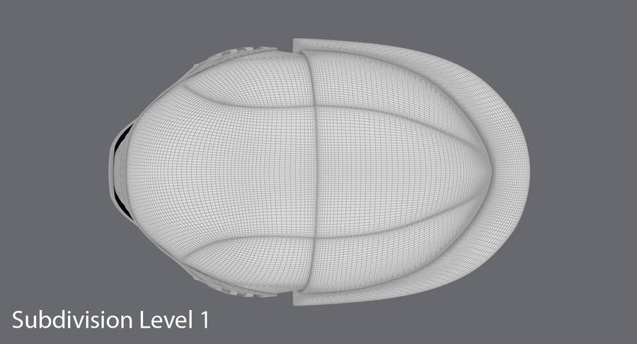 Kylo Ren Helmet royalty-free 3d model - Preview no. 16