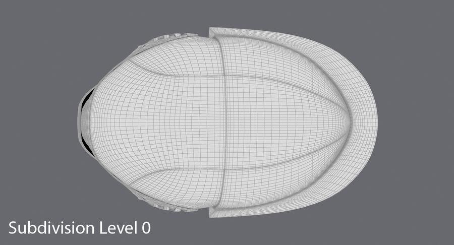 Kylo Ren Helmet royalty-free 3d model - Preview no. 15