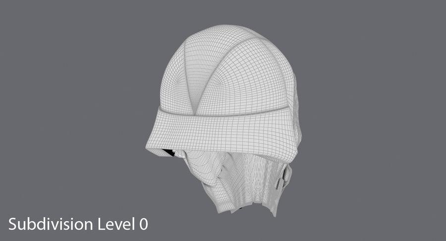 Kylo Ren Helmet royalty-free 3d model - Preview no. 17