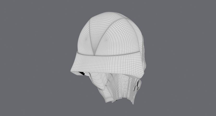 Kylo Ren Helmet royalty-free 3d model - Preview no. 21