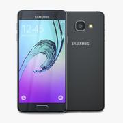Samsung Galaxy A3 2016 Preto 3d model