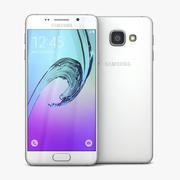 Samsung Galaxy A3 2016 White 3d model