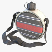 Round Canteen 3d model
