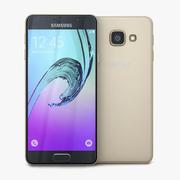 Samsung Galaxy A3 2016 Gold 3d model
