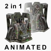 クラフトマシン。鎧 3d model