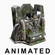 クラフトマシン。兵器 3d model