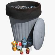 Garbage Can 3d model