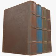 Enkla böcker 3d model