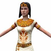 Egyptian priestess 3d model