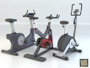 Pacote de bicicletas 01 3d model