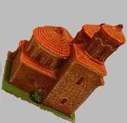 Varredura de modelo de brinquedo da igreja 3d model