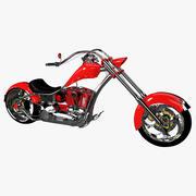 Чоппер Мотоцикл 3d model