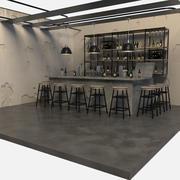 Bar A 3d model