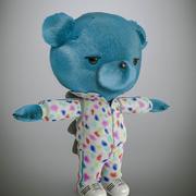 Cartoon Bear 3d model