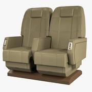개인 비행기 의자 3d model