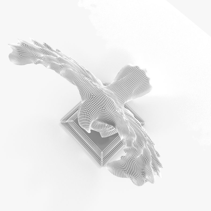金鹰 royalty-free 3d model - Preview no. 18