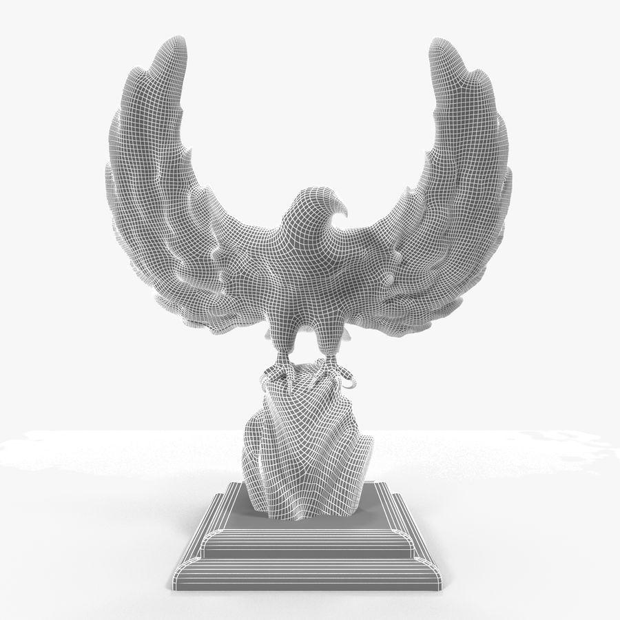 金鹰 royalty-free 3d model - Preview no. 23