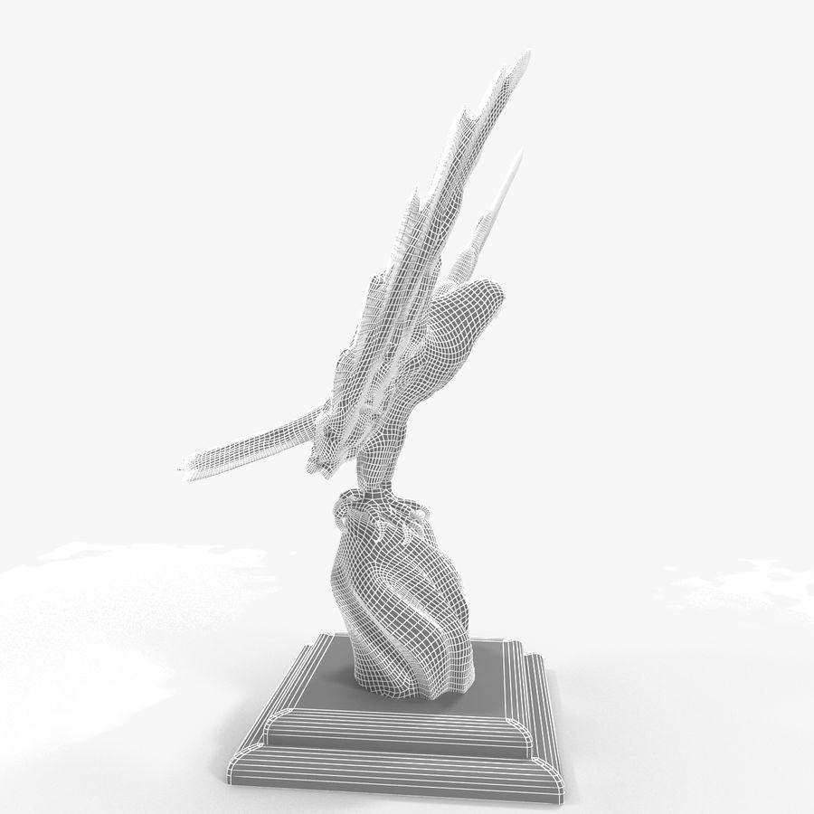 金鹰 royalty-free 3d model - Preview no. 16