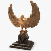 Золотой орел 3d model