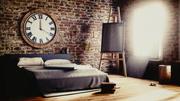 Konstnärens sovrum 3d model