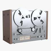 Open Reel Tape Recorder 3d model