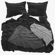 Fotorealistisk säng 007 3d model