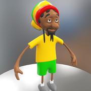 Toon karakter 3d model