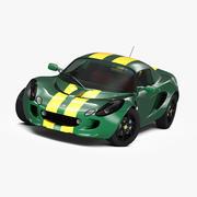 Lotus Elise Type 25 3d model