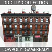 ニューヨークブリックハウス3 3d model