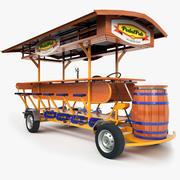 Pedal Pub 3d model